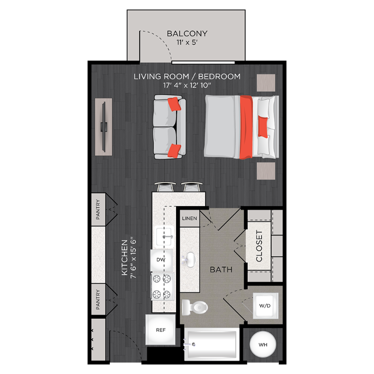 Floor plan image of S1