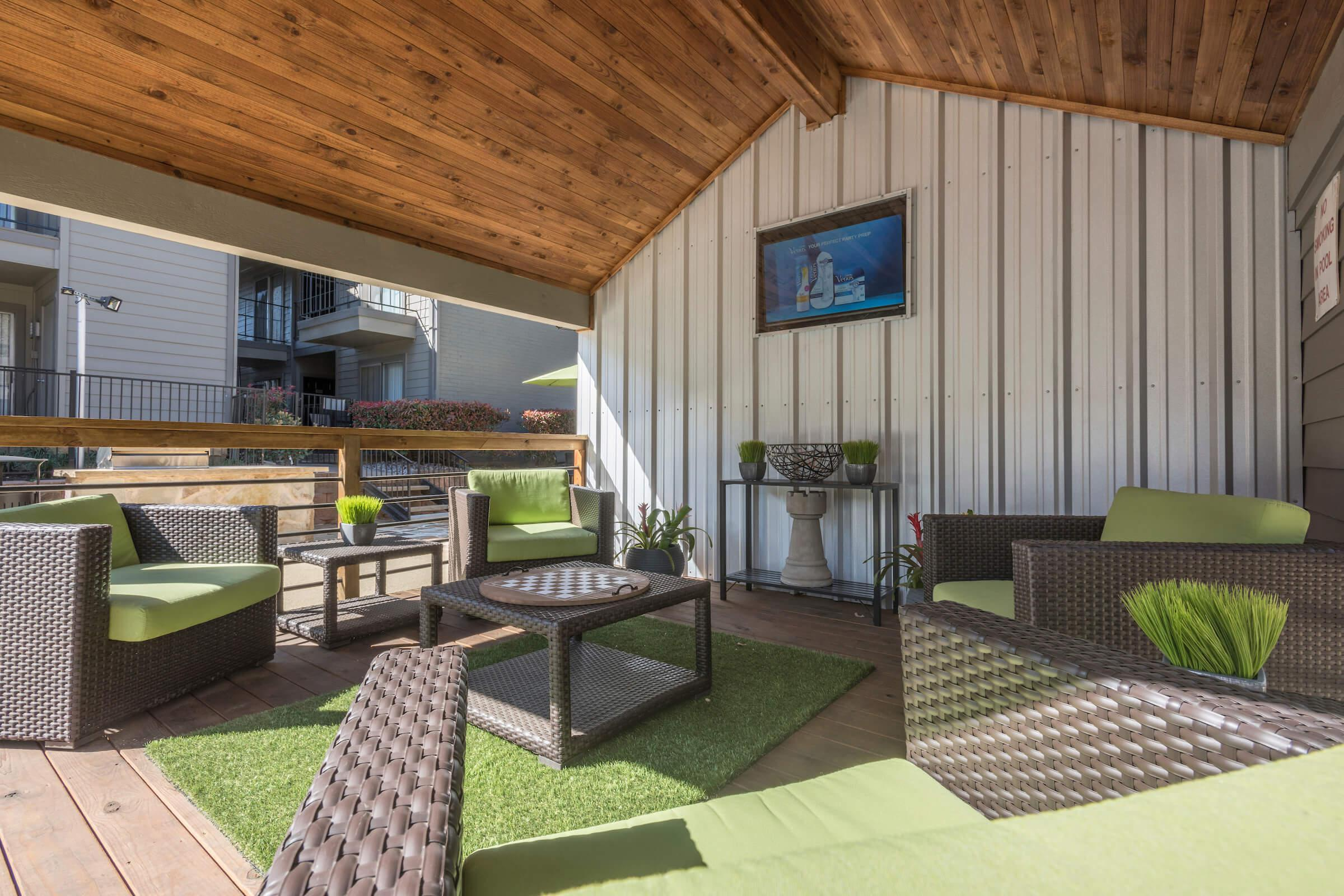 Clubhouse and sun deck