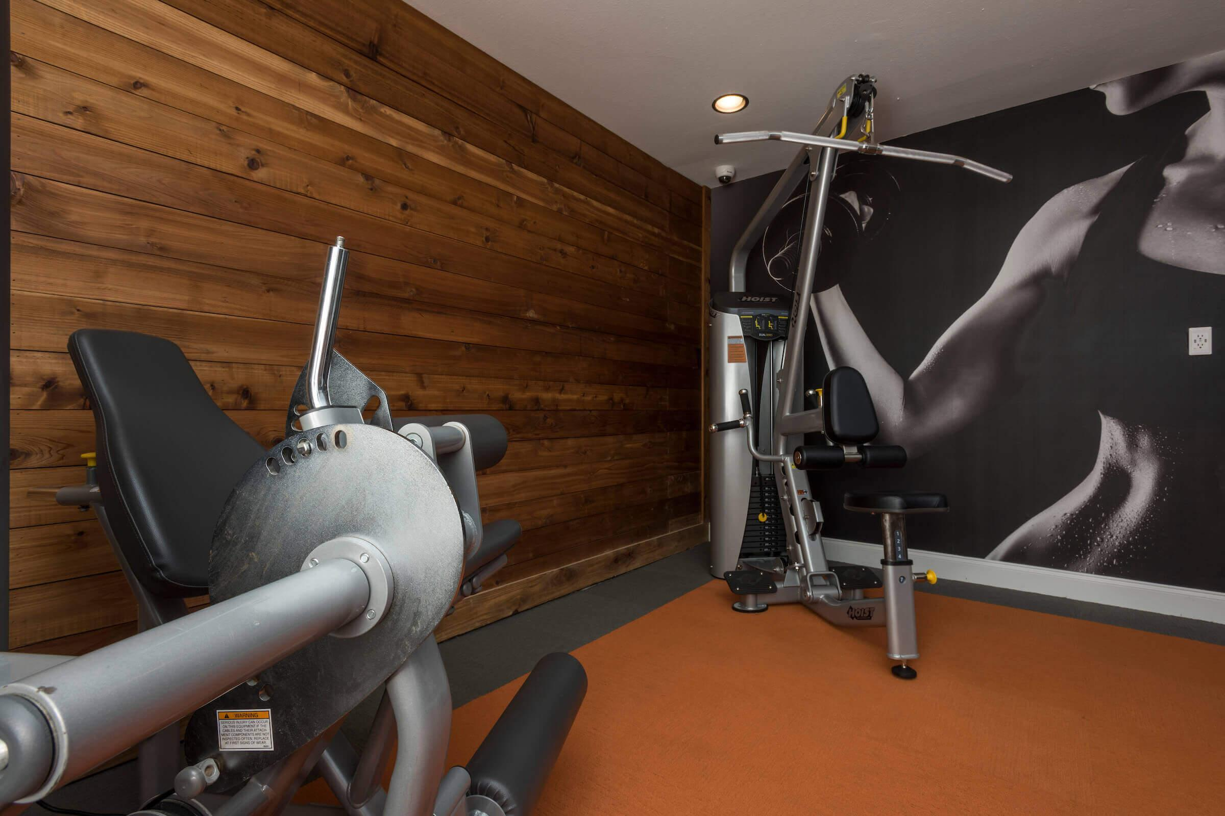 Fitness center at apartment homes for rent in Arlington, TX