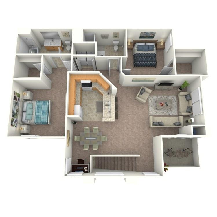 Floor plan image of Sorrento