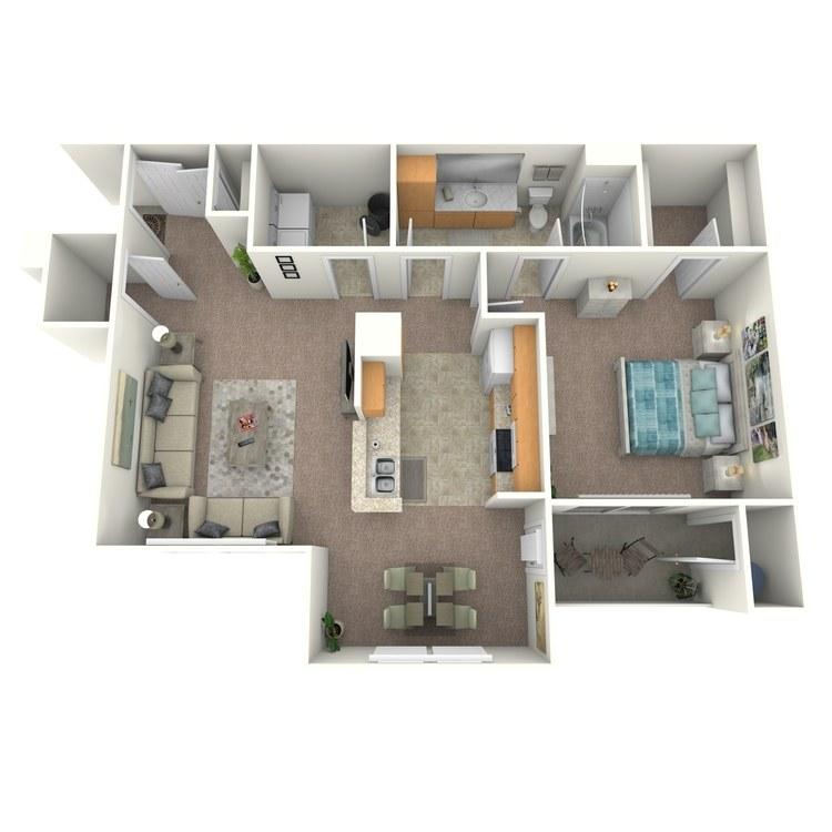 Floor plan image of Brescia