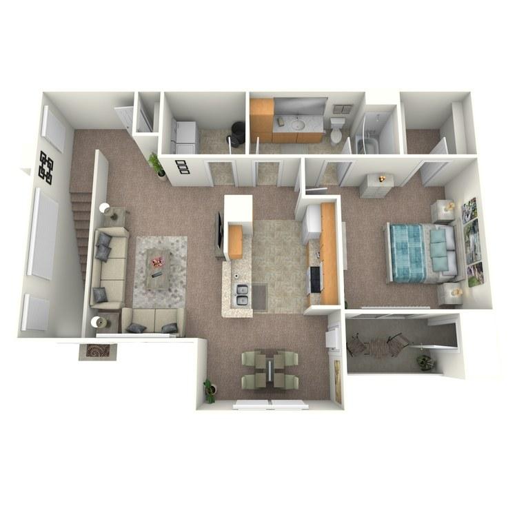 Floor plan image of Corsica
