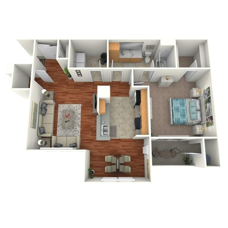 Floor plan image of Brescia Renovated
