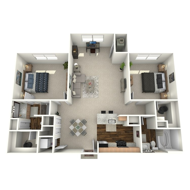 Floor plan image of Luminance
