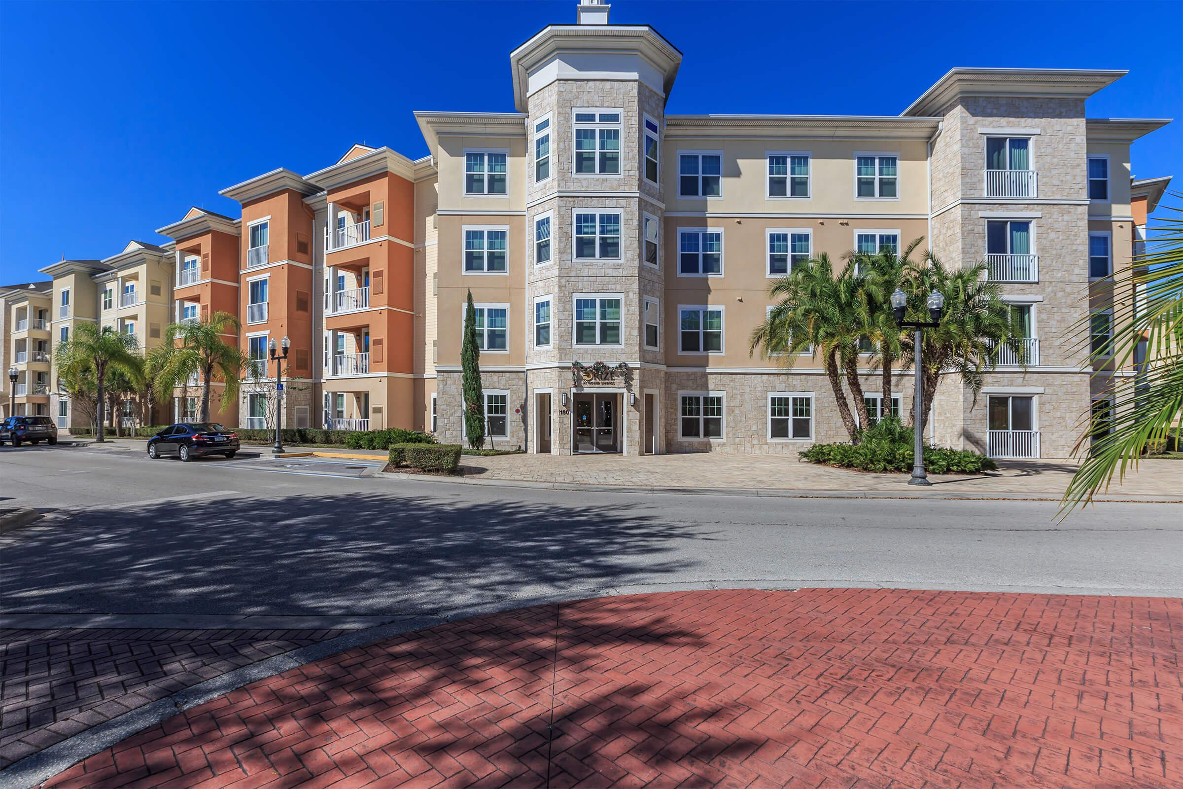 Landscaping at RiZE at Winter Springs Apartments in Winter Springs, FL