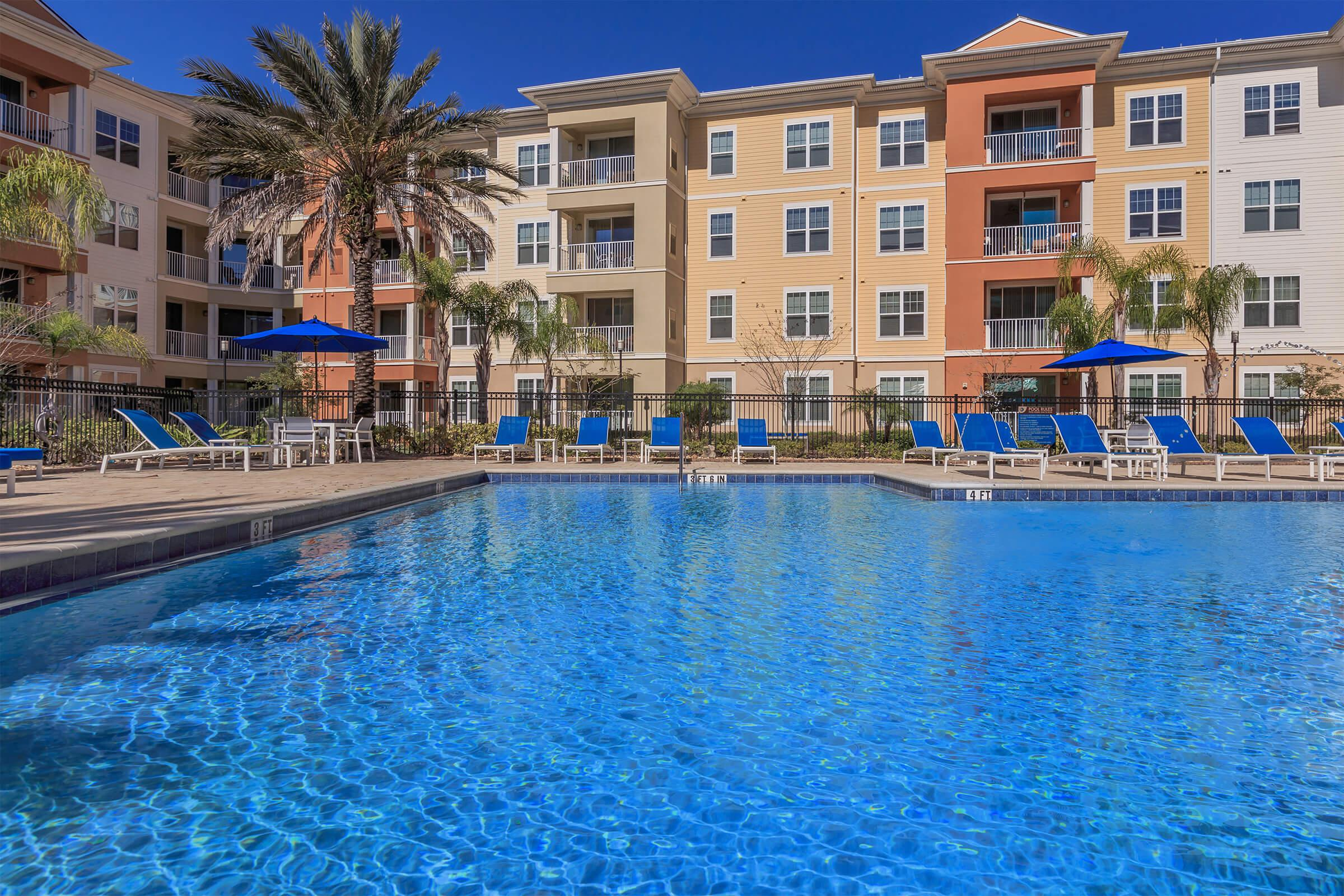Pool at RiZE at Winter Springs Apartments in Winter Springs, FL