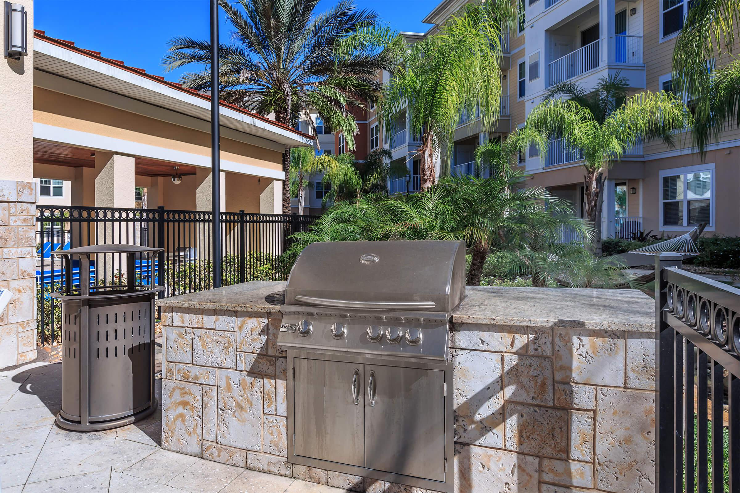 Patio at RiZE at Winter Springs Apartments in Winter Springs, FL