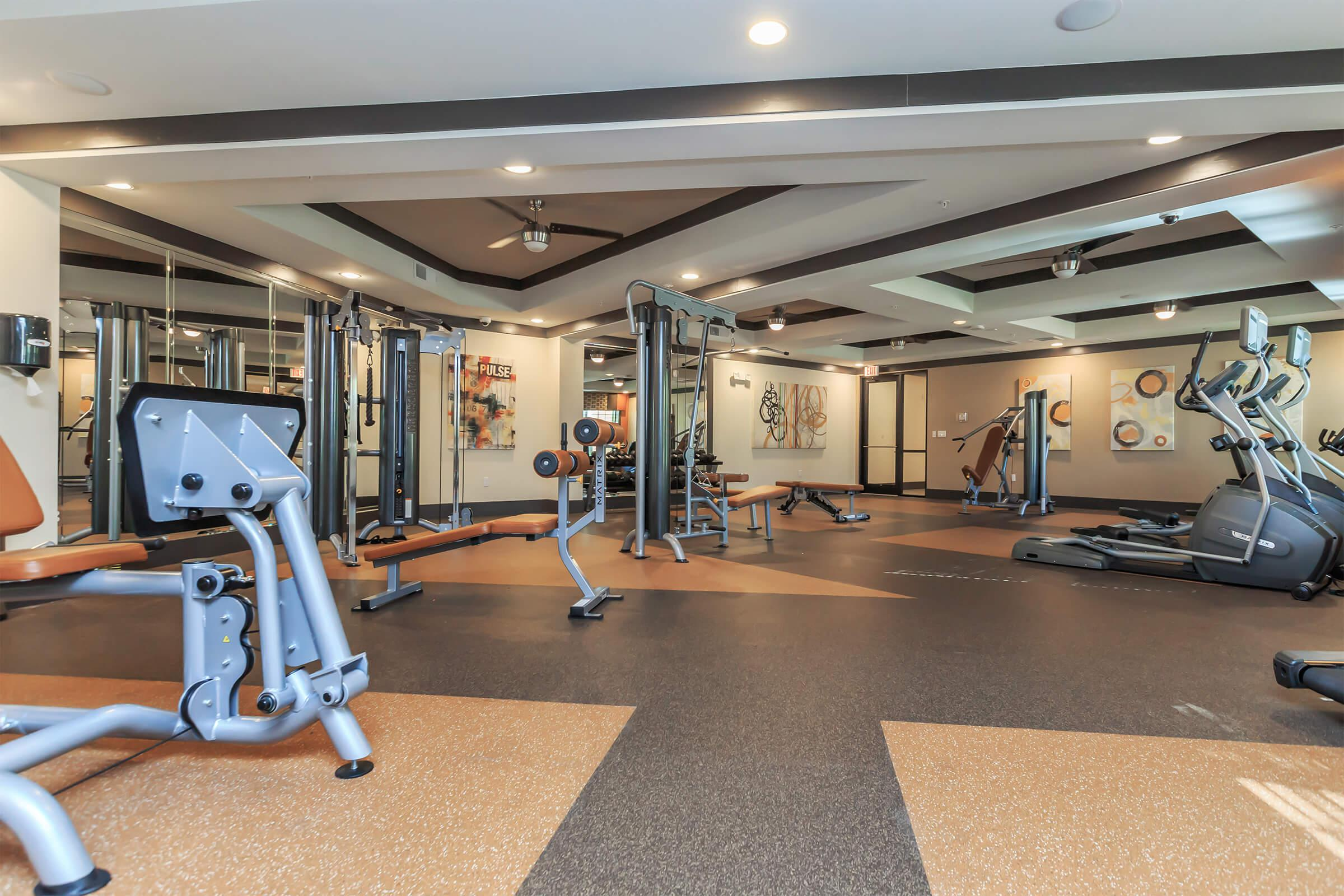 Fitness Center at RiZE at Winter Springs Apartments in Winter Springs, FL