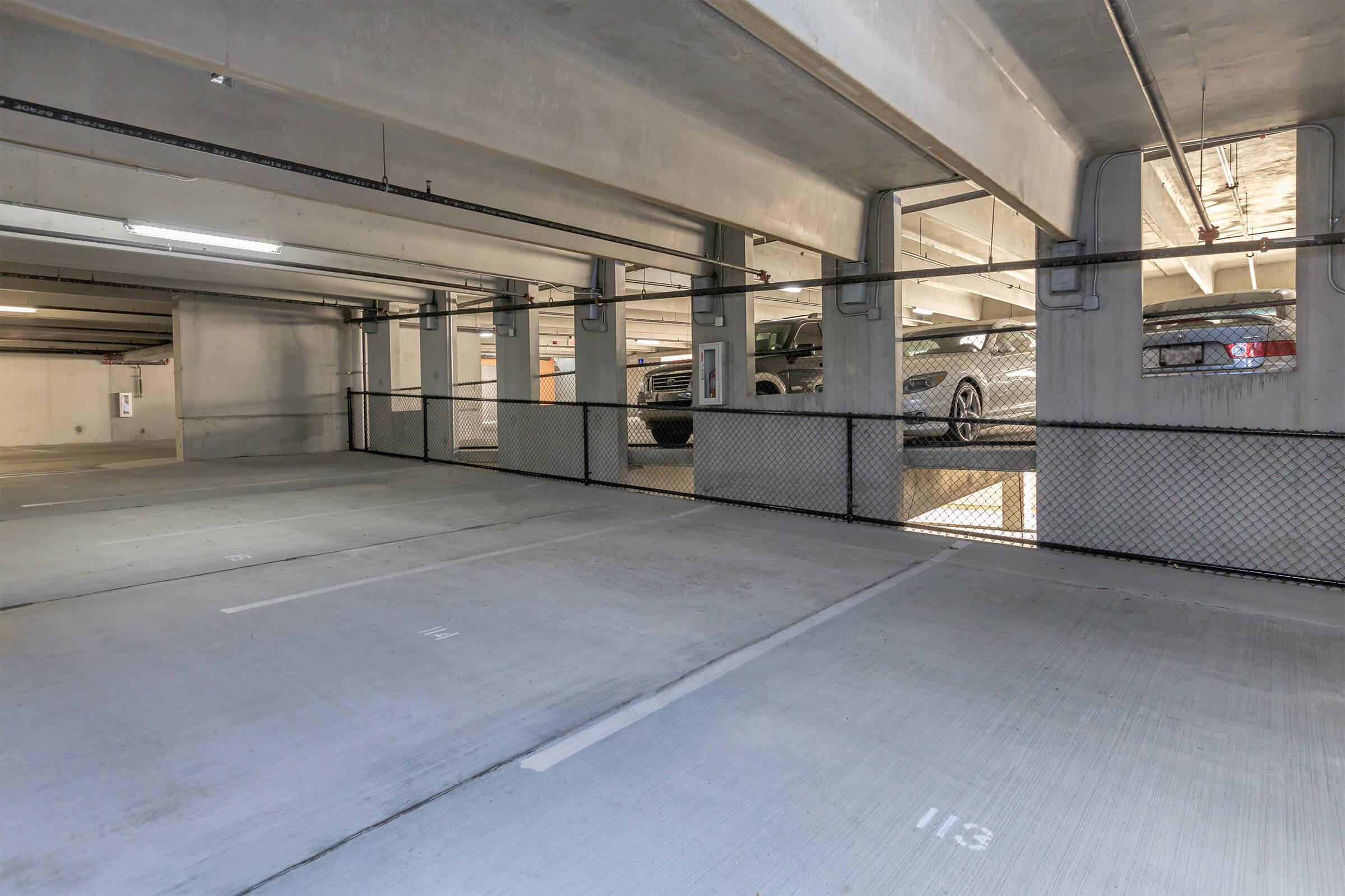 Garage at RiZE at Winter Springs Apartments in Winter Springs, FL