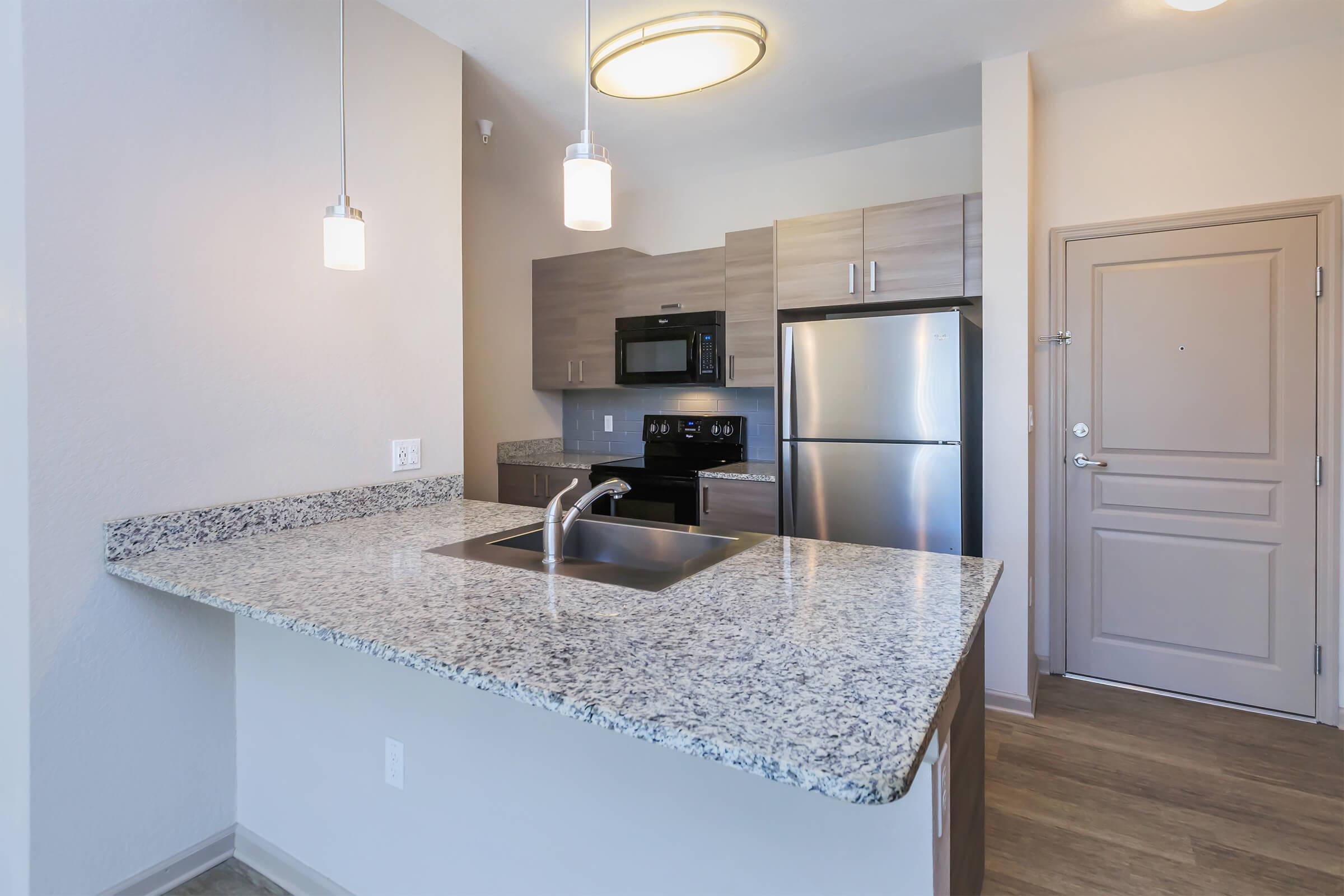 Kitchen at RiZE at Winter Springs Apartments in Winter Springs, FL
