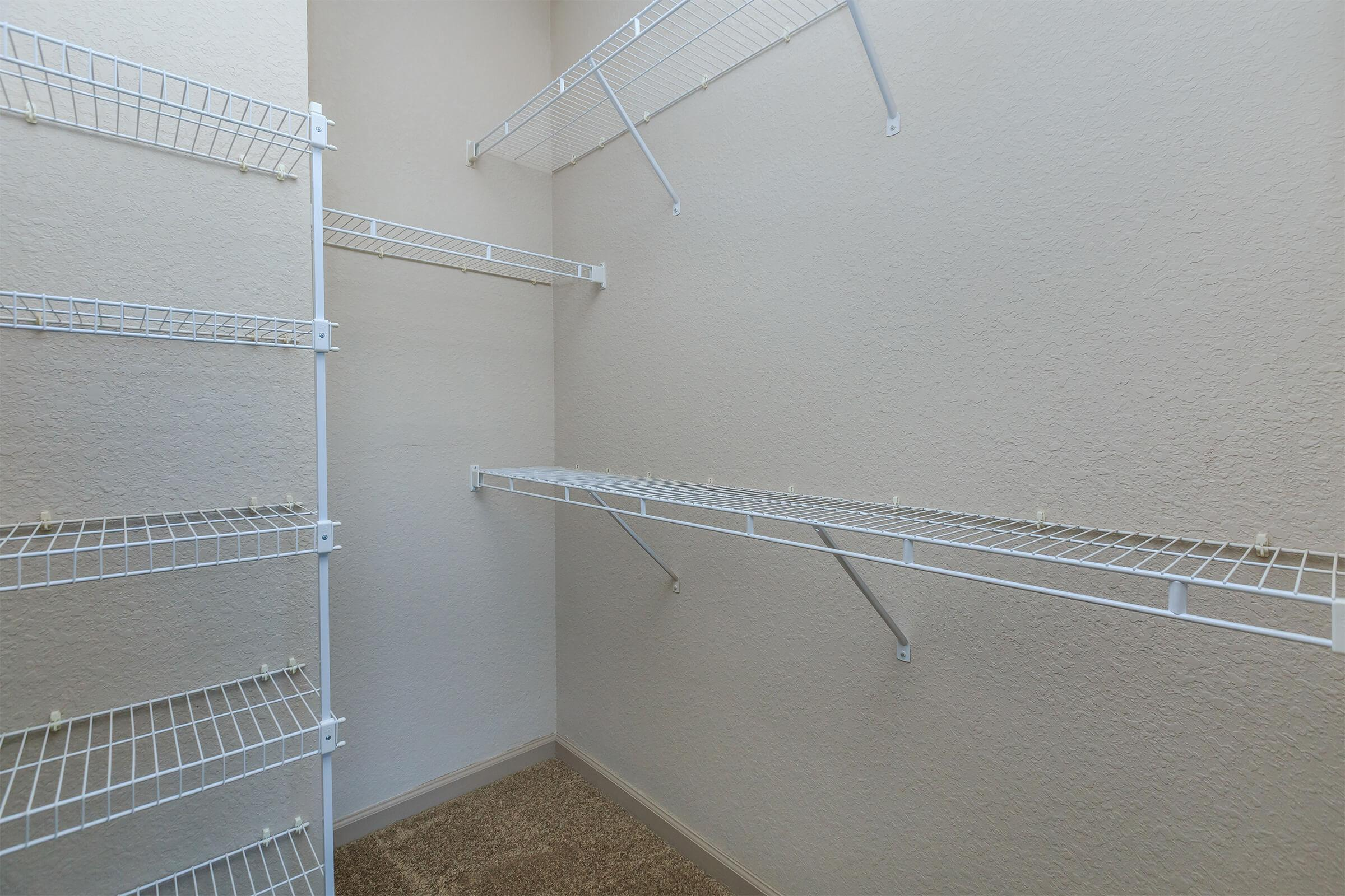 Closet at RiZE at Winter Springs Apartments in Winter Springs, FL