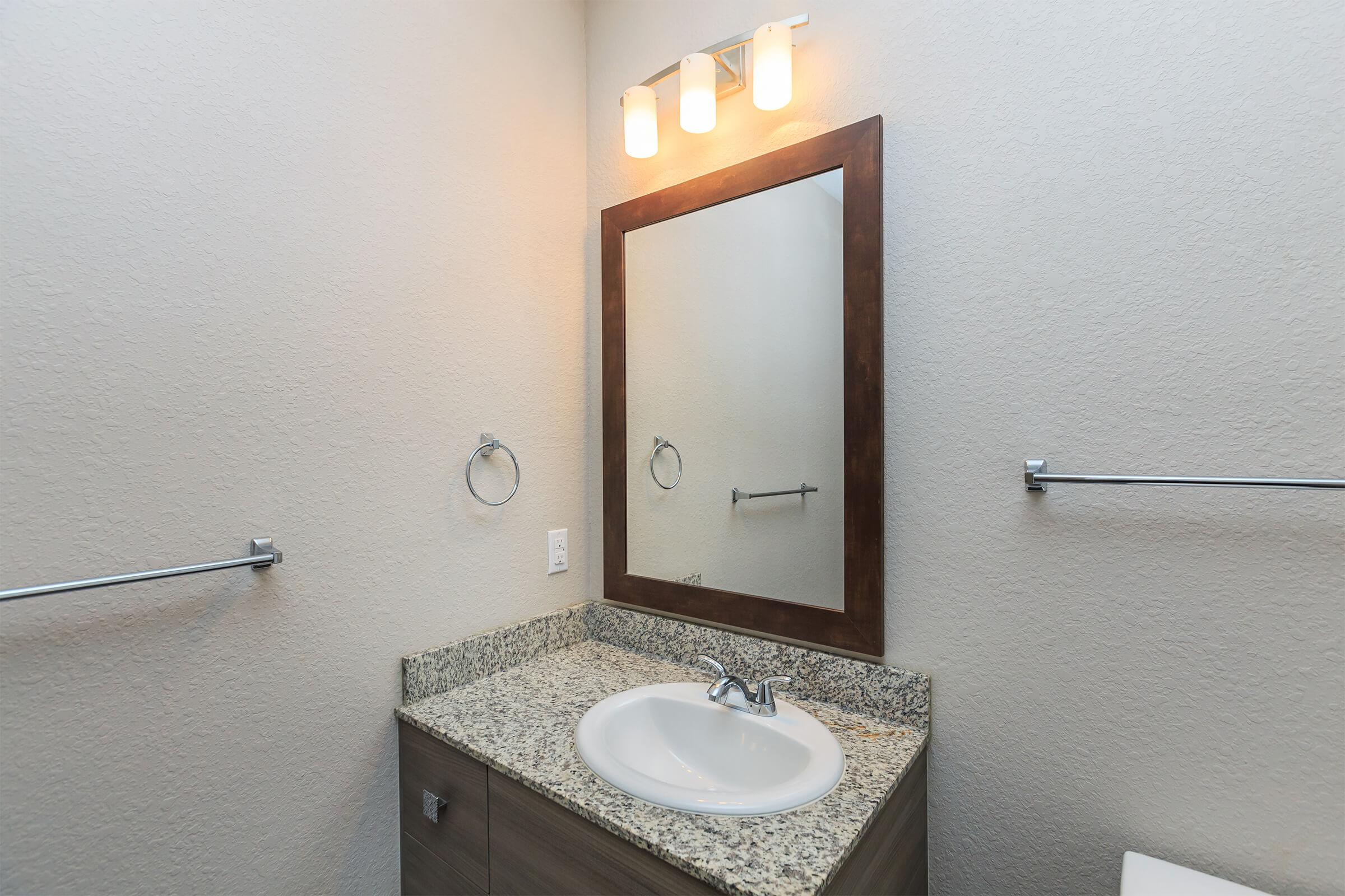 Bathroom at RiZE at Winter Springs Apartments in Winter Springs, FL