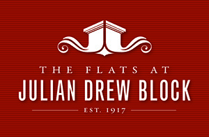 The Flats at Julian Drew Block Logo