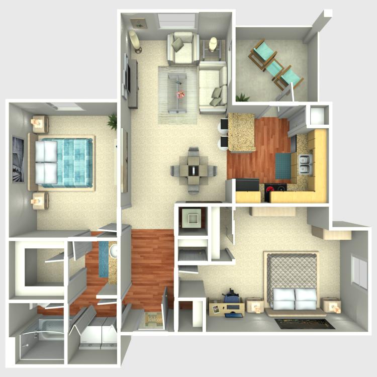 Floor plan image of The Rio Vista