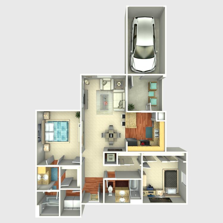Floor plan image of The Alameda