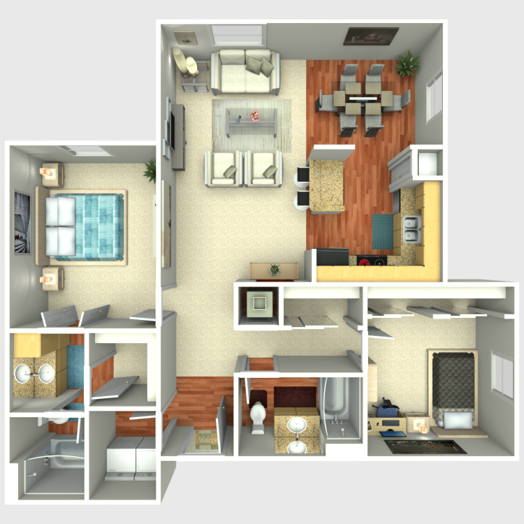 Floor plan image of The Palmetto