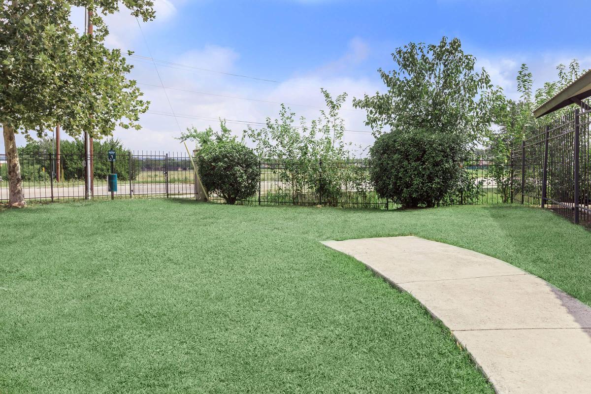 a green yard