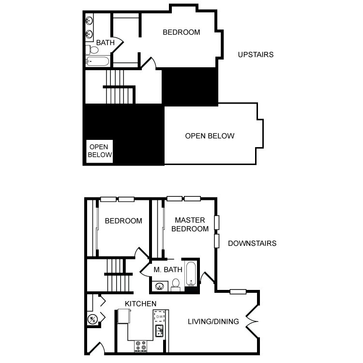 Floor plan image of Clearwater 3 Bed 2 Bath A