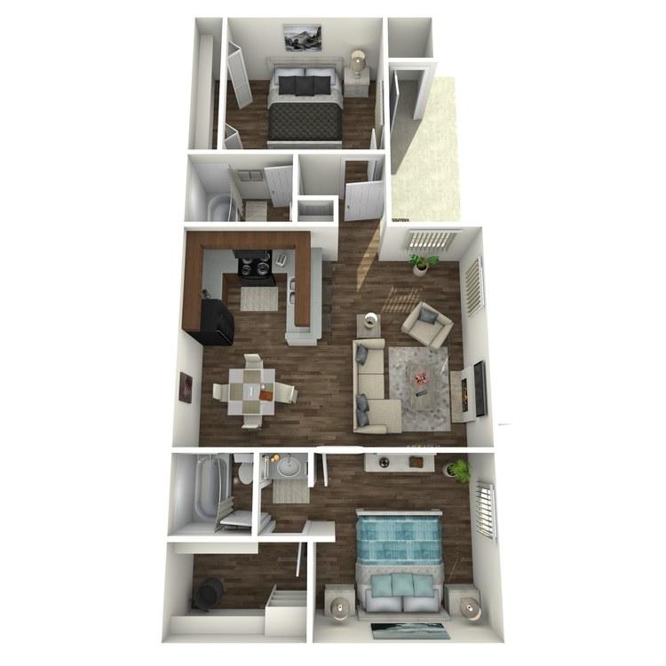 Floor plan image of Bungalow