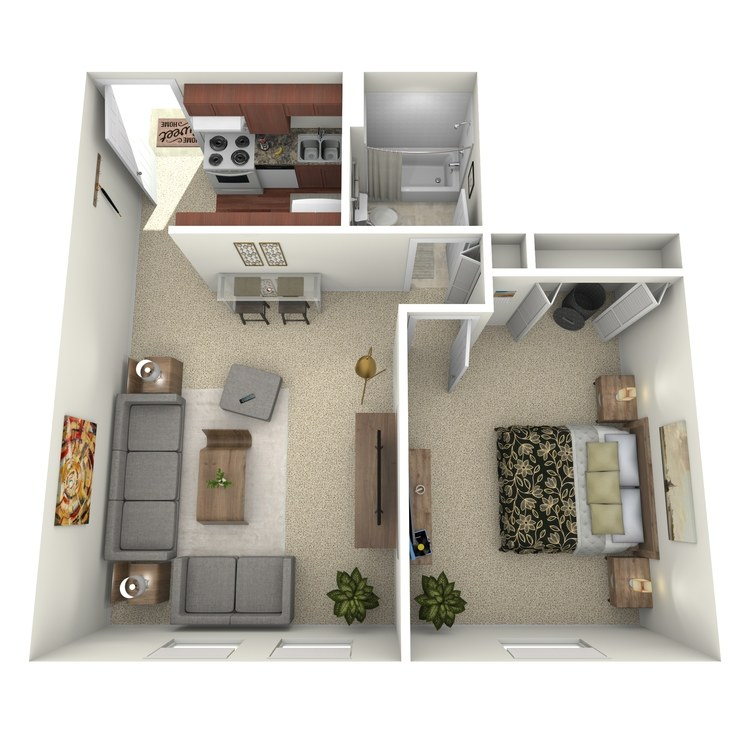 Floor plan image of Suite A