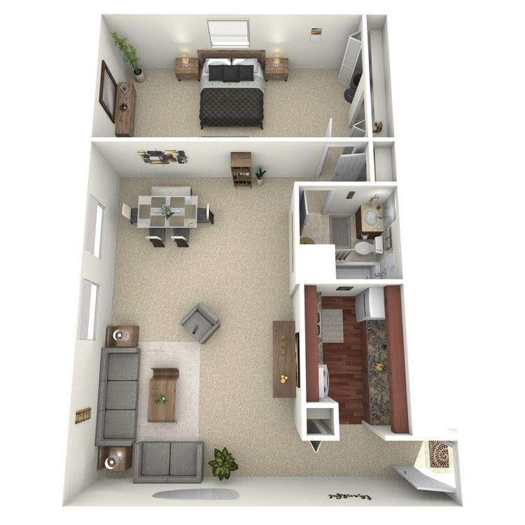 Floor plan image of Suite A+