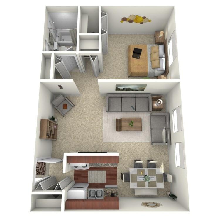 Floor plan image of Suite B