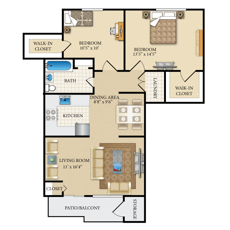 Floor plan image of The Jefferson