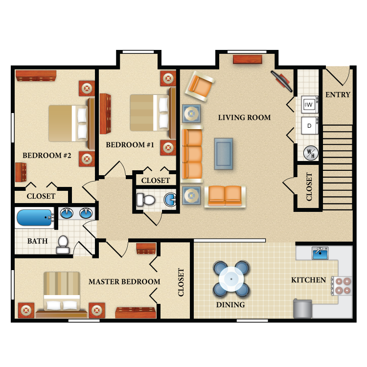 Floor plan image of The Kennedy