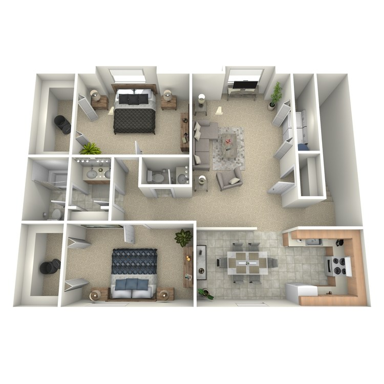 Floor plan image of The Truman