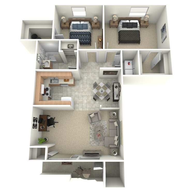 Floor plan image of The Jefferson