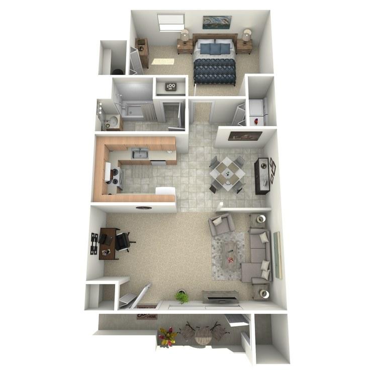 Floor plan image of The Buchanan