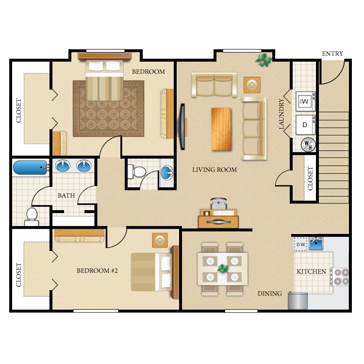 Floor plan image of The Truman