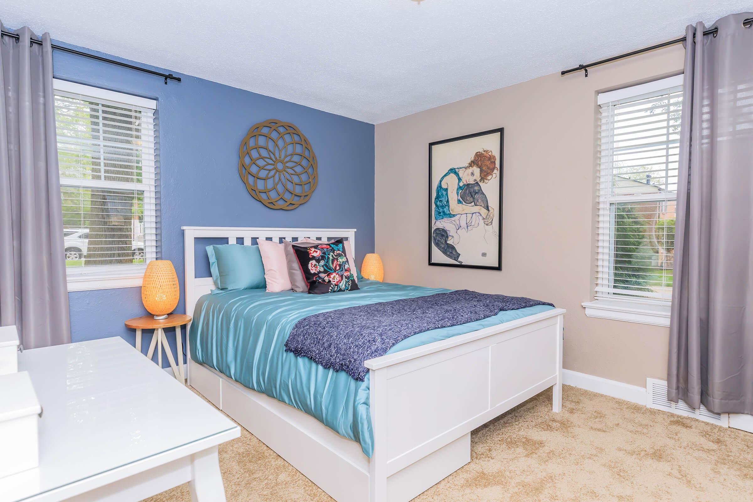 Plush Carpeting in Bedroom