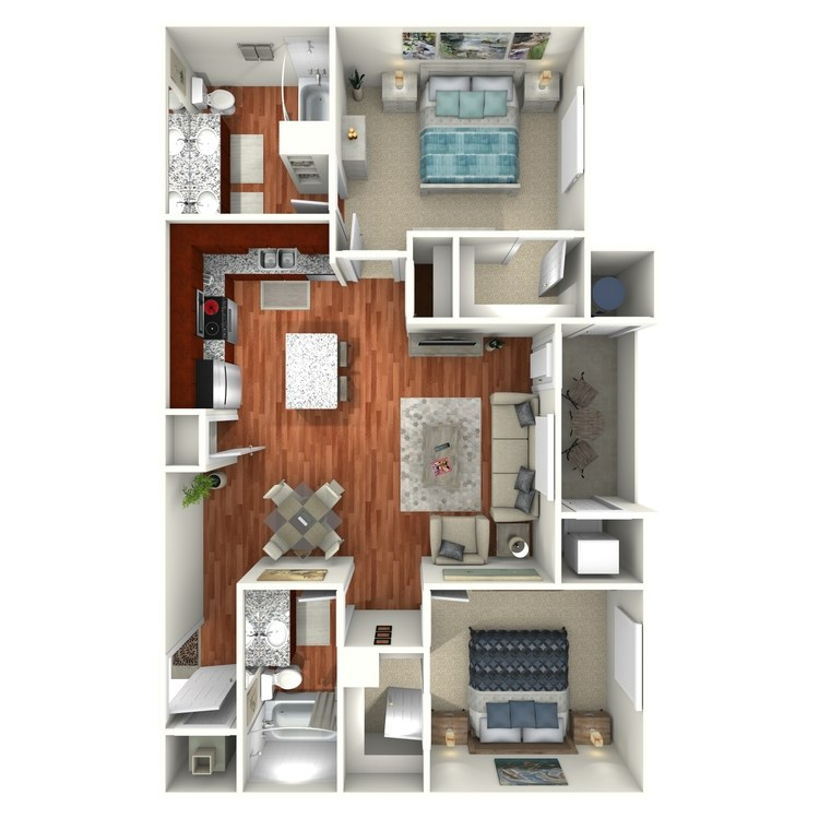 Floor plan image of Larkspur
