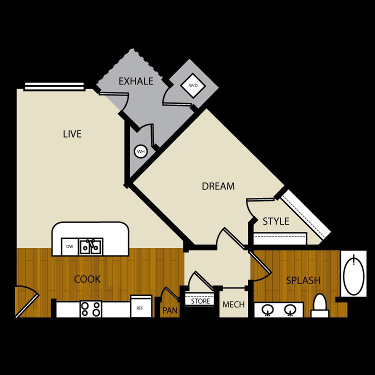 Acacia floor plan image