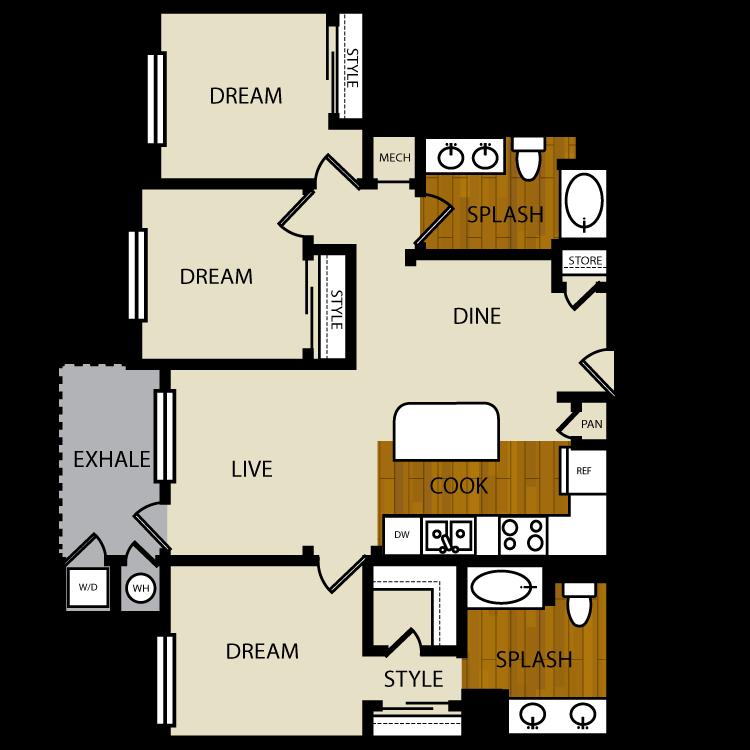 Cress floor plan image