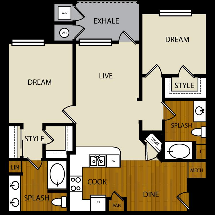 Mesquite floor plan image