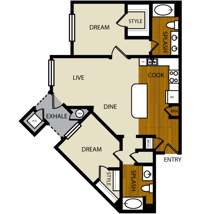 Palm floor plan image