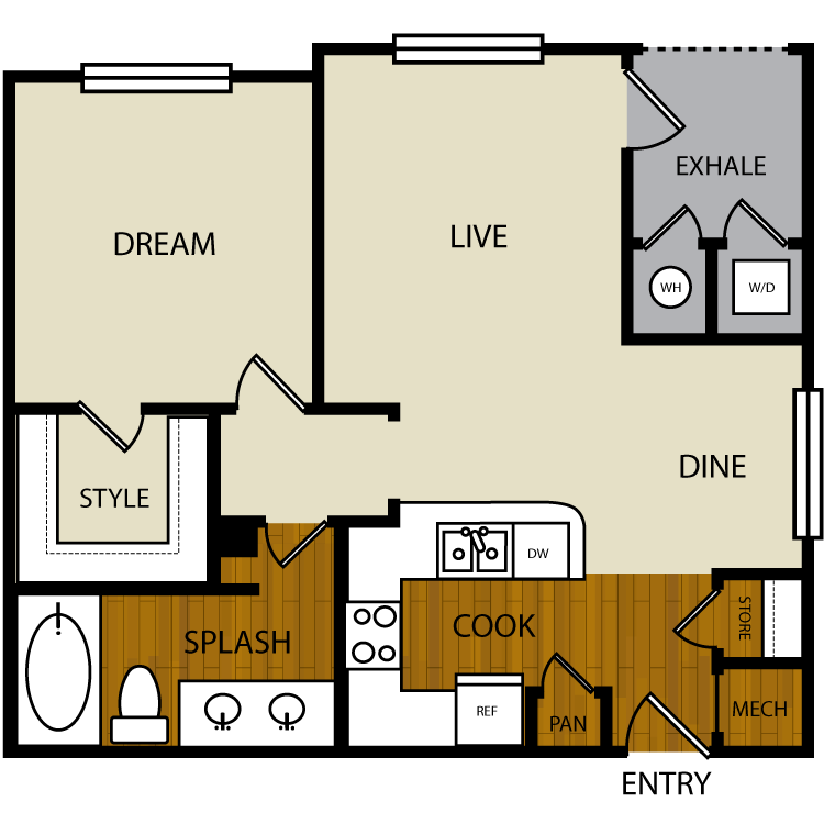 Sage floor plan image