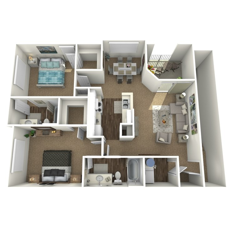 Floor plan image of Plan D2