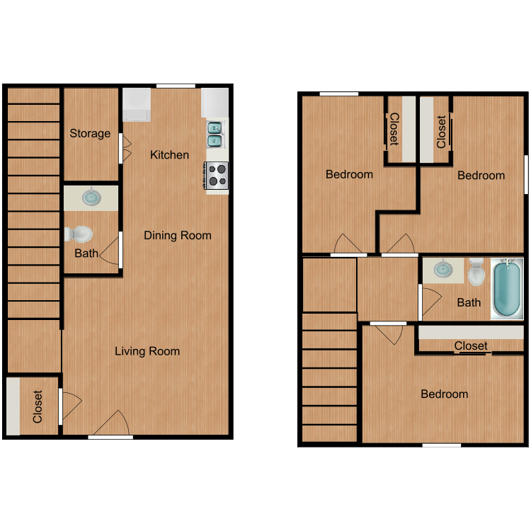 Floor plan image of The James
