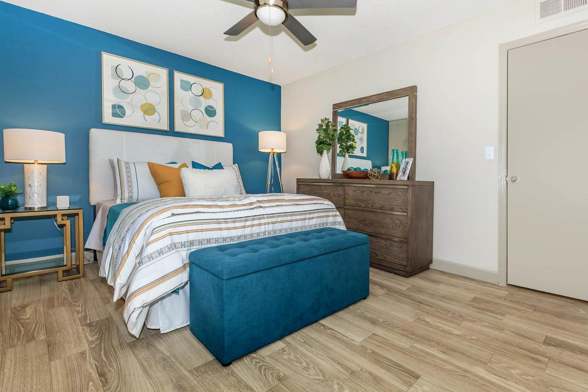 Two Bedroom Apartment Bedroom At The Ashley Columbia