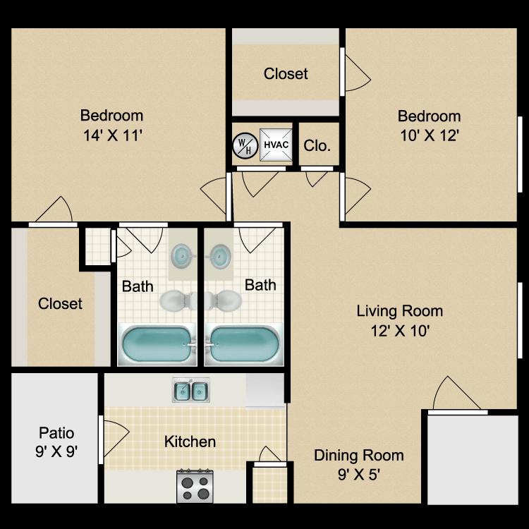 Floor plan image of 1C Corp