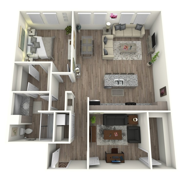 Floor plan image of A6