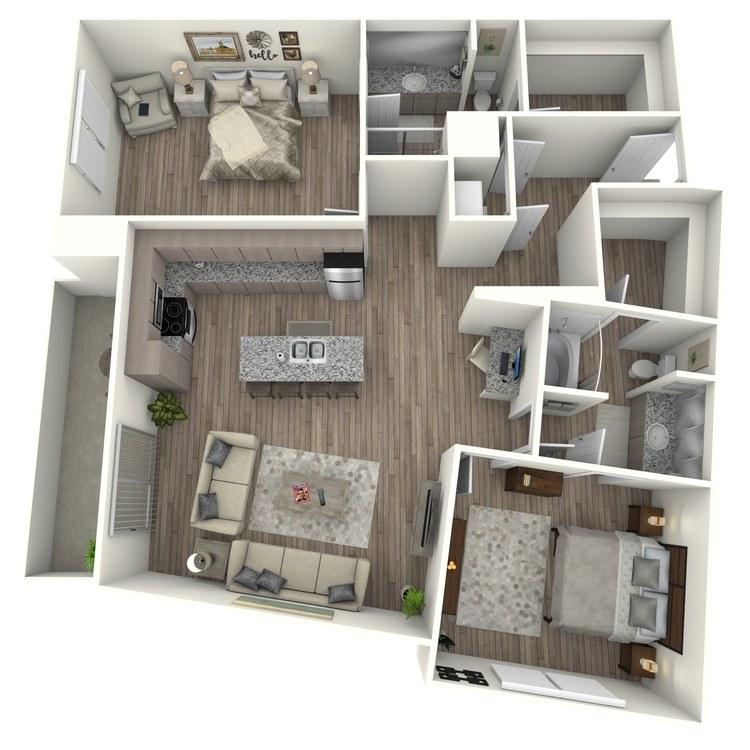 Floor plan image of B11