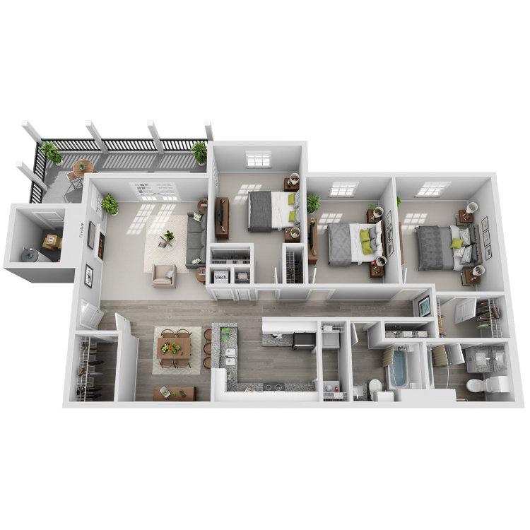 Floor plan image of Sanderling
