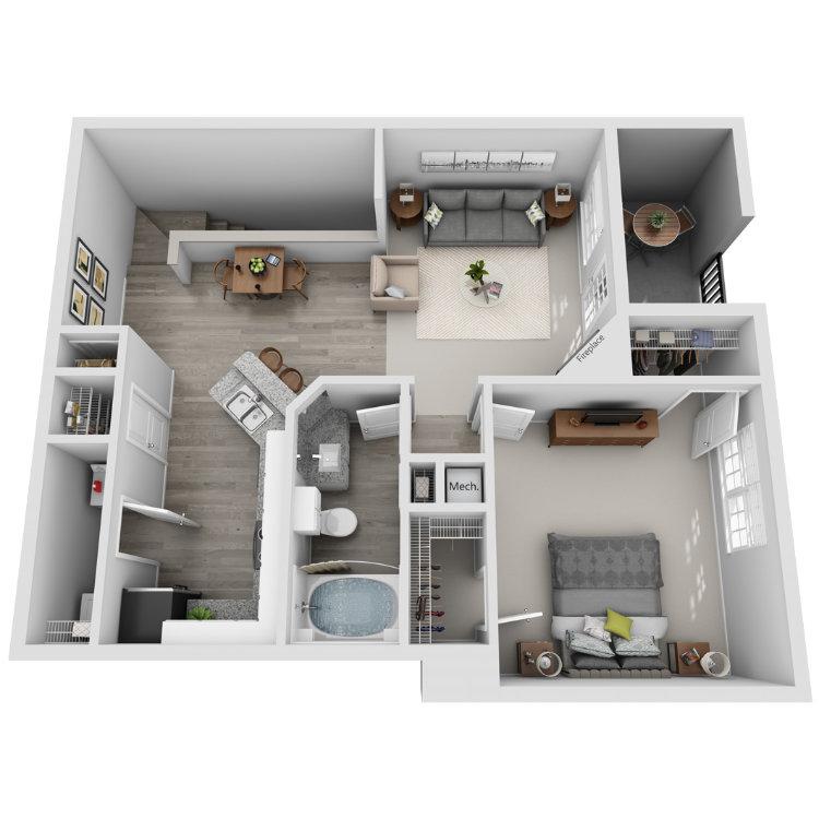 Floor plan image of Cinnamon Teal