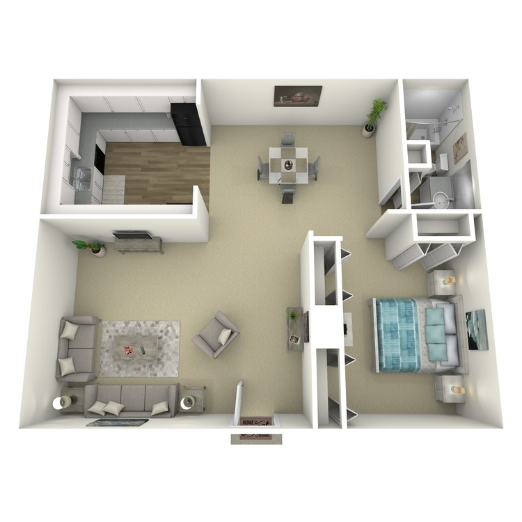 Floor plan image of Birch