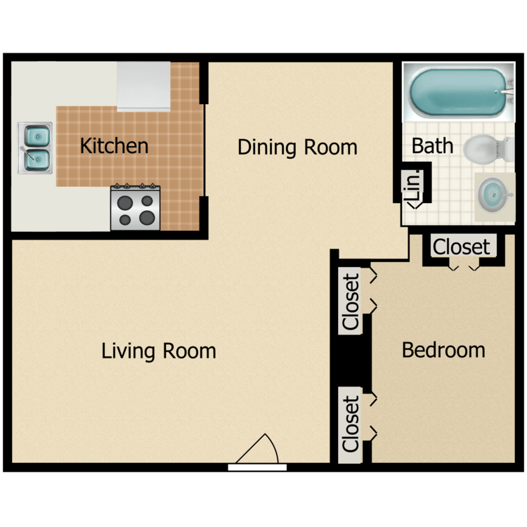 Birch floor plan image