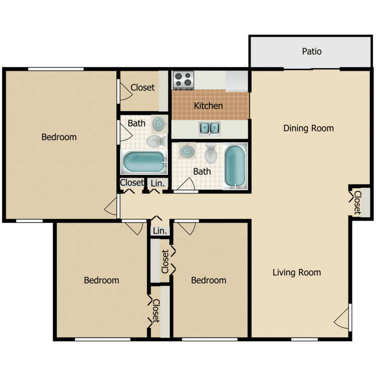 Juniper floor plan image